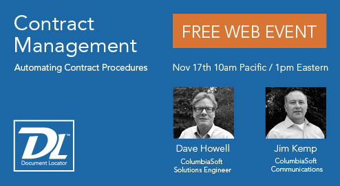 Automating Contract Procedures - Contract Management Webinar - Nov 17