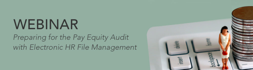 hr webinar preparing for a pay equity audit - Document Locator